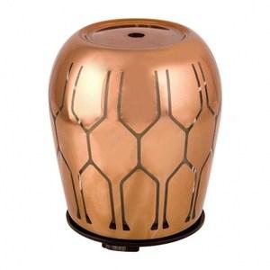 幾何玻璃香氛水氧機 古銅