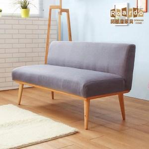 【諾雅度】Melissa梅莉莎簡約兩色(雙人沙發)灰色