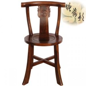 塘荷影 圓面餐椅