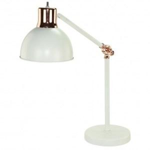 貝亞玫瑰金屬桌燈