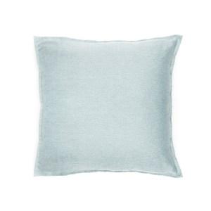 HOLA 素色織紋抱枕50x50cm 湖綠色