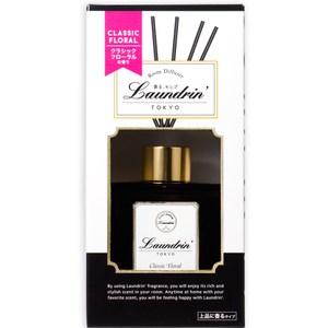日本Laundrin'朗德林 香水系列擴香-經典花香 80ml-3入