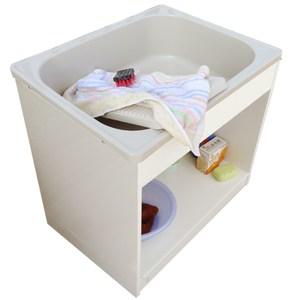 新式中型開放款塑鋼洗衣槽 水槽 洗手台-1入