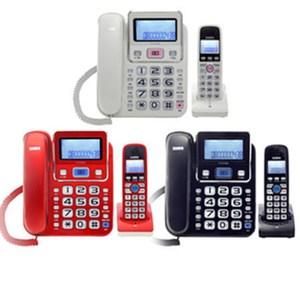 SAMPO聲寶 2.4GHz高頻數位無線電話 CT-W1304DL (紅)