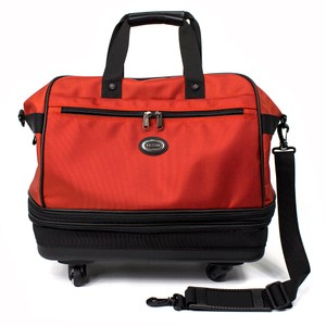 YESON - 可變大三層輪袋/旅行袋 - MG-881紅色系