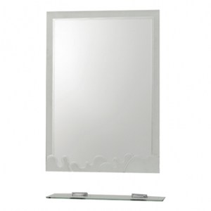 古典噴砂雙掛除霧浴鏡附平台