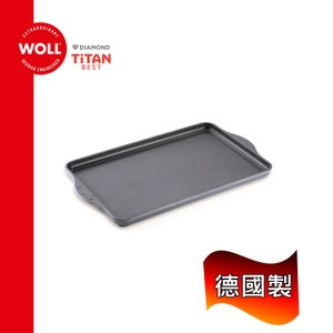 《WOLL》德國歐爾-鈦鑽43x28cm 鑄造不沾方形烤盤 烤皿(243TBB)