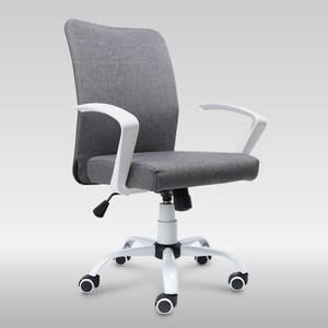【IDEA】北歐亞麻親膚低背S型人體工學椅/電腦椅
