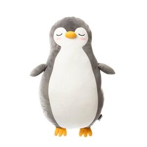 HOLA 彈力超柔造型抱枕32x66cm 企鵝