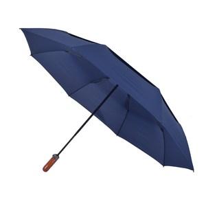 2mm 紳士潮流雙層抗風 超大傘面自動開收傘_深情藍