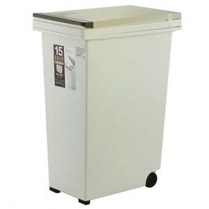 ASVEL-EBAN彈壓式垃圾桶-15L
