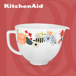 【KitchenAid】5Q陶瓷攪拌盆(北歐花園)