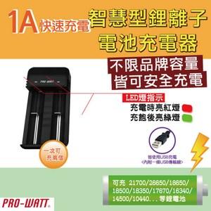 RO-WATT智慧型鋰電池雙槽充電器(ZL223E)