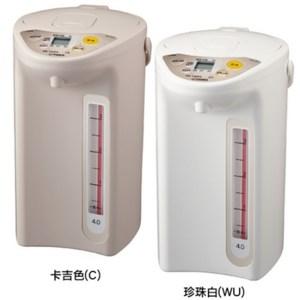 【TIGER虎牌】4.0L微電腦電熱水瓶(珍珠白色) PDR-S40R