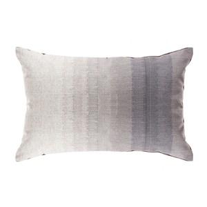 HOLA 貝絲印花抱枕30x45cm漸層灰黑