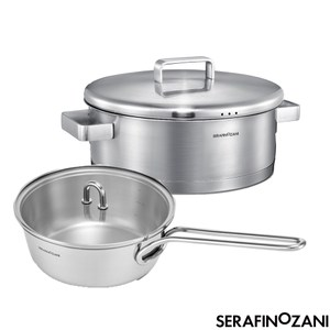 【SERAFINO ZANI尚尼】MILAN系列多功能不鏽鋼鍋 26C