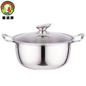 鵝頭牌316不鏽鋼4L福氣料理湯鍋 CI-2624