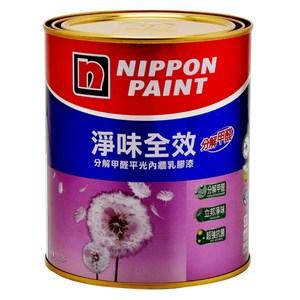 立邦淨味全效乳膠漆小鴨黃1L