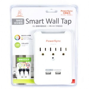 V-Socket 警示燈壁插  TPAWN3OB0009