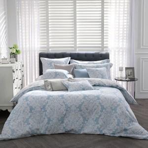 【BBL Premium】古典風姿100%精梳棉.印花加大兩用被床包組