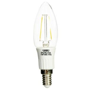 星鑽光超亮LED蠟燭燈泡E14 2.5W 暖白光