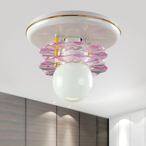 【光的魔法師 Magic Light】粉紅花片吸頂單燈