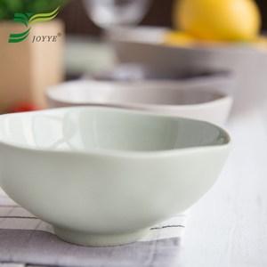 【JOYYE陶瓷餐具】自然初語浪邊碗-小(一套4件)