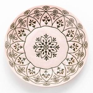 日本 摩洛哥飯盤 20.5cm 粉