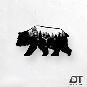 DT Time童話木質系列時鐘- 森林熊
