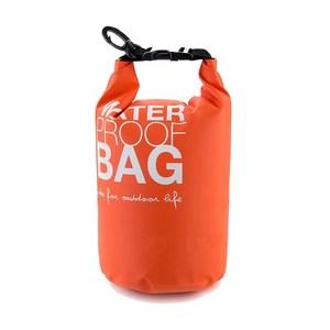 【PUSH!戶外休閒用品】防水袋小型漂流袋P46-2綠色