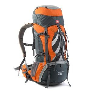 【PUSH!登山戶外用品】70L專業型空氣懸架登山背包雙肩背包U11海藍