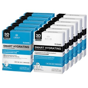 《台塑生醫》丰潤肌保濕面膜12入組(玻尿酸*6盒+九胜肽*6盒)