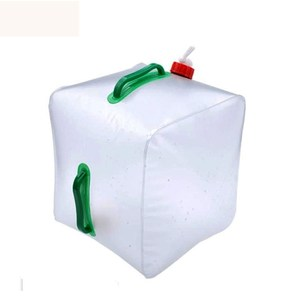 【PUSH! 戶外休閒用品】20公升折疊水桶 折疊水壺 P03