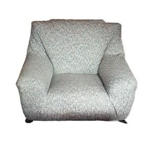 HOLA 混紡彈性三人沙發套 灰色