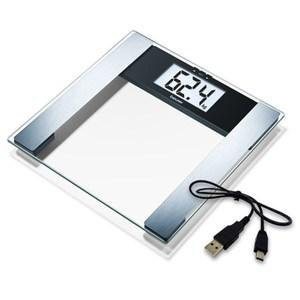 德國 博依 beurer 電腦傳輸體脂計 BF480 體重計 (透明色)