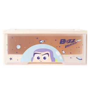 HOLA 迪士尼系列 Toy Story 單層堆疊抽屜櫃 寬55cm 巴斯光年 Buzz