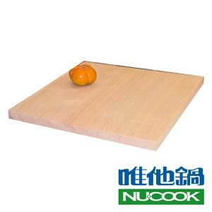 【VitaCraft 唯他鍋】NuCook 台灣製雲杉天然原木砧板特大