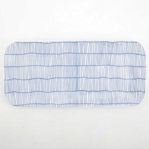 HOLA 荷莉長方盤 21.5cm 藍編織