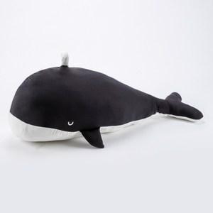 涼感造型抱枕 長100x寬30cm 大鯨魚