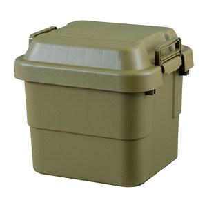 【日本RISU】TRUNK CARGO多功能耐重收納箱30L-軍綠色