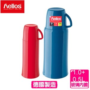 【德國helios 海利歐斯】HES保溫瓶(1000+500cc)