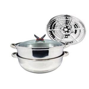 鍋霸 34CM不鏽鋼雙層霸王蒸煮鍋