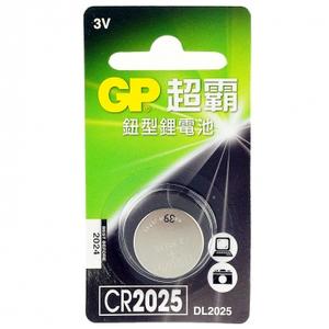 GP 鈕型鋰電池 CR2025 1入