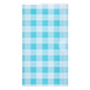 [特價]銀離子抗菌口罩收納夾 蘇格藍紋