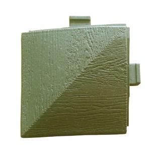 鑲台塑木踏板 木紋收邊角冷茶