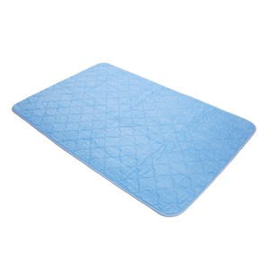 HOLA home 極光涼感沙發墊三人180x165cm冰藍