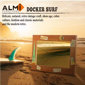 ALMI DOCKER SURF- MIRROR 50x70 造型掛鏡