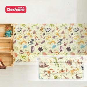 【Doricare朵樂比】QQ防護壁貼-字母動物12入30x60x1.2cm