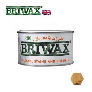 【英國Briwax】拋光上色蠟-棕褐色 370g(上色蠟)