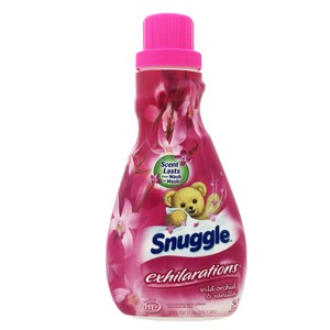 【美國 Snuggle 3倍濃縮】衣物柔軟精-野蘭花香(50oz/1470ml)